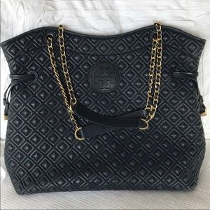Tory Burch Marion bag, blue, good condition